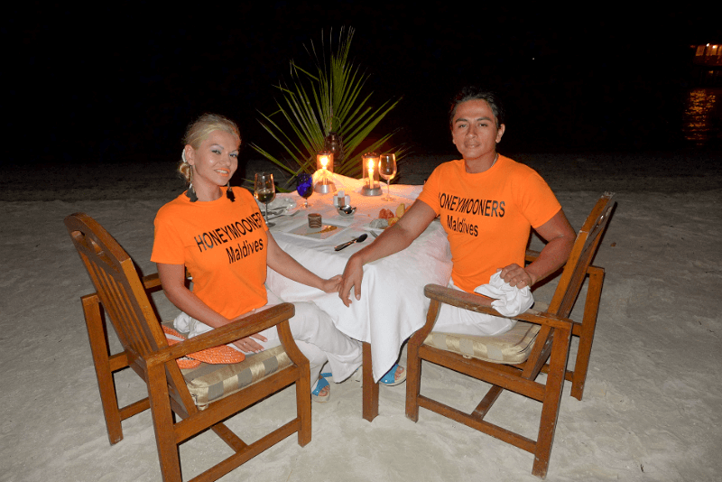 Romantic Honeymoon Maldives
