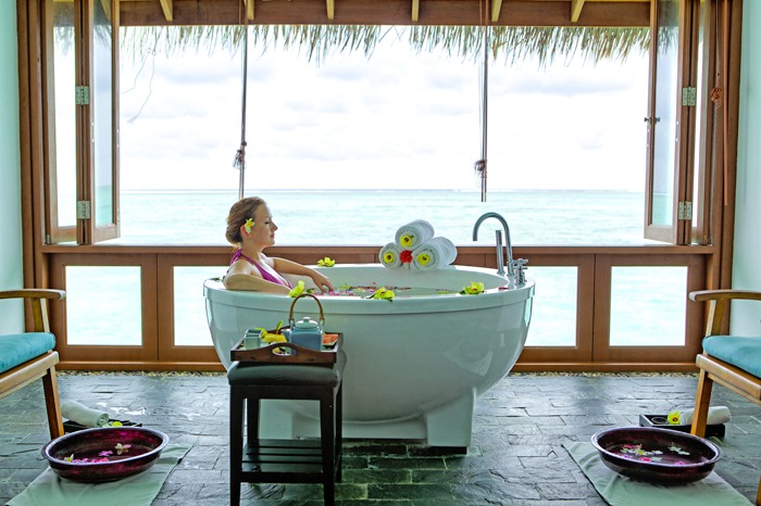 Medhufushi spa treatment